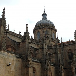 Salamanca's Old Cathedral 12th C