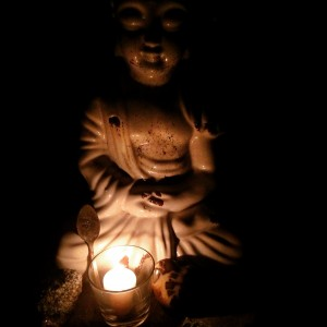buddha in the dark