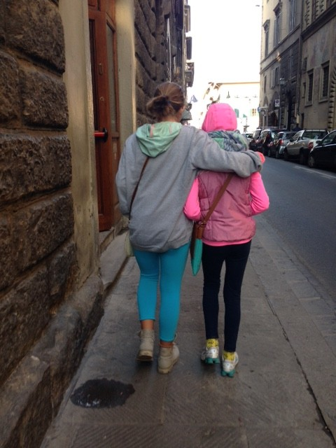 Friends in Florence