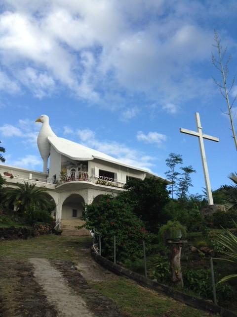 The Holy Bird Lady of Mauritius