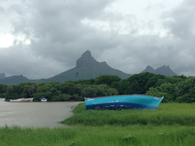 Cyclone (almost) in Mauritius